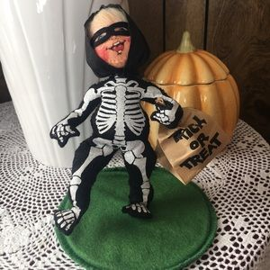 Annalee Skeleton Doll